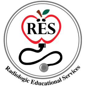 Radiology Continuing Education Courses and Credits | Radiologic Educational Services logo